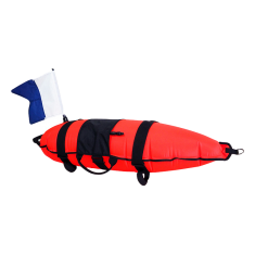 Cressi Inflatable 30L Float with Flag
