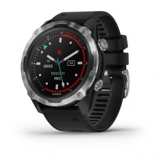 Garmin Descent™ Mk2 Stainless Steel with Black Band