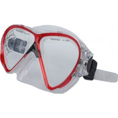 DEEP BLUE Mask M228 - Red - narrow fitting