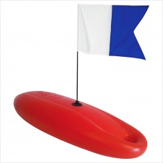 ROB ALLEN 12L Hard Float with Flag & Weight